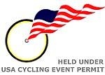 Held under USA Cycling Event Permit